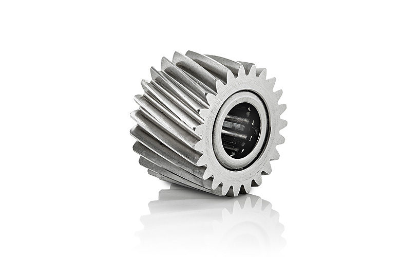 helical bearing assembly