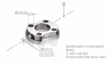 instrument component ring