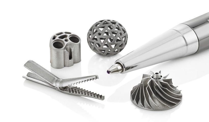Precipart 3D Printed Components